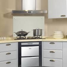 glas küchenrückwand glasrückwand fliesenspiegel spritzschutz herd spüle küche 80x40 cm milchglas v2aox
