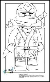 Lego Ninjago Coloring Pages To Print Out