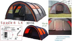 toile de tente 4 chambres freetime tentes dôme familiale 6 places tente de cing