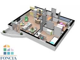 appartement 3 pièces à vendre mont de marsan 40000 55 28 m2