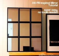 a large mirror on the cheap