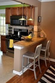 kleine gemauerte küchentheke mit granitplatte küchen