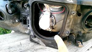 2003 lincoln ls headlight issue how to