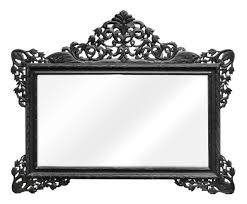 casa padrino barock wandspiegel schwarz 190 x h 155 cm wohnzimmer spiegel im barockstil