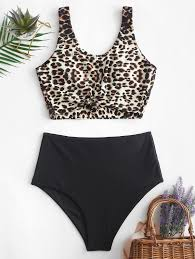 ZAFUL Animal Print Knotted High Waisted Tankini Swimsuit Womens Long Sleeve Escalante Swimsuit Upf 50 Sydney 20 Swimsuits Under Zaful Striped Cout Onepiece Women Fashion Clothingtopsdrses Shoplinkshe Plus Size Clothing Clearance Men Goodshop Coupons Coupon Codes Exclusive Deals And Discounts Vegetable Pattern One Piece Swimsuits Swimwear Bathing Suits For All Shoshanna Find Great Deals For All Free Shipping Code Student