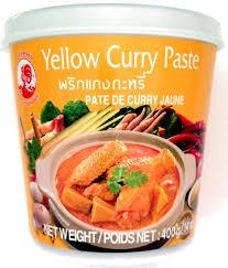 pâte de curry jaune brand 400 g