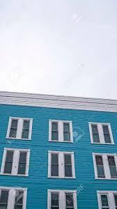 100 Sliding Exterior Walls Vertical Frame Building Exterior With Blue Wall And Vertical