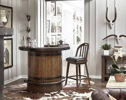 Youre Likely To See A Lot Of Metal Accents And Re Purposed Wood Used In Rustic Style Furniture Maybe Cowhide Rug Or Live Edge Tables