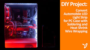 diy project convert led light for pc use 2016