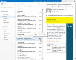 Microsoft Details Smart Features For fice 365 Outlook Web App
