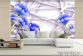 großhandel 3d wallpaper wandbild custom europäischen stil warme und einfache blumen 3d tv kulisse 3d wandbilder wohnzimmer yeyueman8888 7 55