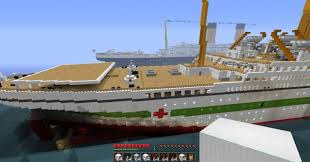 Sinking Of The Britannic Youtube by H M H S Britannic Minecraft Project