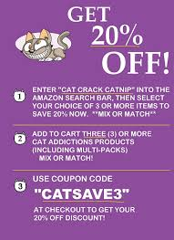 Amazon.com : Cat Weed Catnip Has Maximum Potency Premium Blend Nip ... Amazon Promo Codes 20 Off Thingany Item Coupons July 2019 Spanx Coupon Code November Prime Day Whole Foods Deals Free 10 Credit And Savings Honey Never Search For A Coupon Code Again Marketing Ecommerce Promotions 101 Growth How To Set Up In Seller Central Barcode Formats Upc Bar Graphics The Secret To Saving 2050 On Its Not Using Purseio Create Onetime Use For Product Nykaa Offers 70 Aug 2223