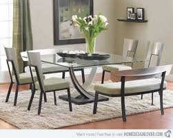 Dining Room Table Decorating Ideas best 25 glass dining room table ideas on pinterest glass dining
