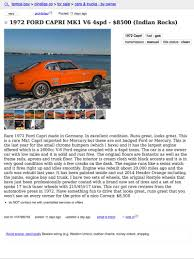 100 Craigslist Tampa Bay Cars And Trucks This 1972 Mercury Capri Is Orange Wants 8500