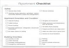 Best Checklist For New Apartment Pictures