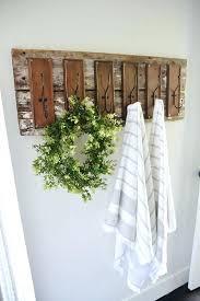 Rustic Bathroom Wall Decor Ideas Magnificent In