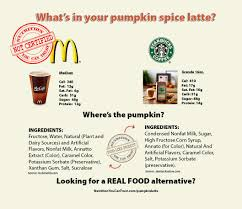 Pumpkin Spice Frappe Nutrition by Starbucks Pumpkin Chai Latte Nutrition
