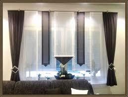 gardinen wohnzimmer terracotta wind und sichtschutz für