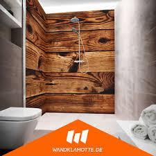 details zu eck duschrückwand zwei platten alu bad dusche wand cabin wood