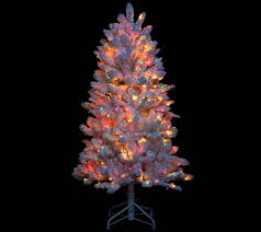 5ft Christmas Tree Storage Bag by Bethlehem Lights 5 U0027 Hudson Flocked Christmas Tree Page 1 U2014 Qvc Com