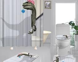 dinosaurier vorhang etsy