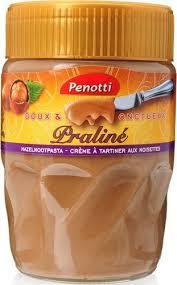 ou trouver de la pate praline penotti pâte doux et onctueux praliné 350g chockies