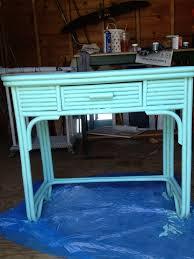 Rattan table off craigslist Looks just like the pieces from Maine