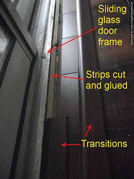 Types Of Transition Strips For Laminate Flooring by Laminate Transitions At Sliding Doors