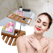 Bamboo Bathtub Caddy With Reading Rack by Online Get Cheap Bamboo Bathtub Caddy Aliexpress Com Alibaba Group