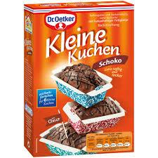 dr oetker kleine kuchen schokolade saftig und locker 260g