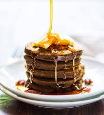 Pumpkin Cake Mix Pancakes by The Best Healthy Pumpkin Pancakes Made Easy In The Blender
