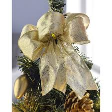 Christmas Tree Amazon Uk by Werchristmas Pre Lit Decorated Christmas Tree Table Decoration 2