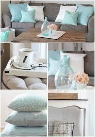 cozy farmhouse living room aqua and blush color crush aqua