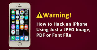 Warning Your iPhone Can Get Hacked Just by Opening a JPEG Image