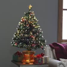 Cheap Fiber Optic Christmas Tree 6ft by Classic Tabletop Unlit Christmas Tree 4 5 Ft Hayneedle