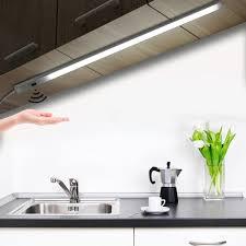 30cm led unterbauleuchte lichtleiste usb sensor schranklicht küchenleuchte weiß
