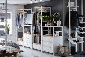 ikea dressing chambre dressing ouvert armoires ouverte ikea