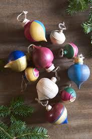 Navidacio 12 Pcs Glass Christmas Balls Ornaments Set In Ice Red
