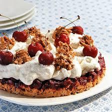 kirsch joghurt torte mit schokoboden rezept essen und