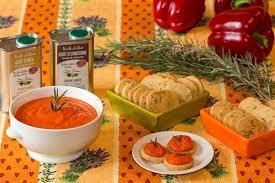 cuisiner les poivrons rouges recette de caviar de poivrons rouges et sablés au romarin la