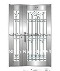 metal security door design in Doors from Home Improvement on