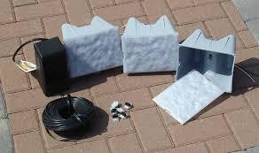 retaining wall low voltage light kit krwl