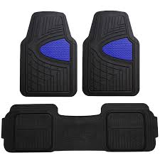 100 Heavy Duty Truck Floor Mats FH Group F11511 Car AllWeather Tall Channel Full Set W Universally Designed For S Cars SUVs All Automobiles