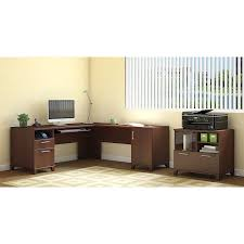 Realspace Magellan Collection L Shaped Desk Dimensions by Amazon Com Achieve L Shaped Desk With Printer Stand File Cabinet