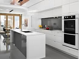 Antique White Kitchen Design Ideas by Cool White Kitchen Design Ideas With Cleany Floor And Wooden