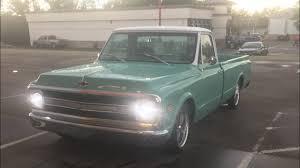 100 Chevy Truck Headlights 6772 C10 Led HeadLights YouTube