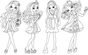 Download Ever After High Coloring Pages