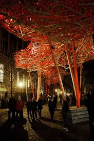 100 Arne Quinze The Sequence Brussels Created A Cloud Of Woven