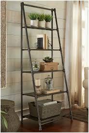 leaning ladder shelf decorating with leaning ladder shelves